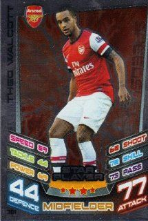 Match Attax 2012/2013 Star Player Card   361 Arsenal THEO WALCOTT [Toy] Toys & Games