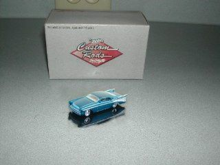 Hot Wheels   Custom Rods   Boyd Coddington Series   CheZoom ['57 Chevy]   164 Scale Limited Edition Collector Car Replica. Metalflake Turquoise Body Color Toys & Games