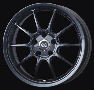 17x7 Enkei RPF1 Type II (Gunmetal) Wheels/Rims 5x100 (455 770 8048GM) Automotive