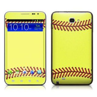 Softball Design Protective Decal Skin Sticker (High Gloss Coating) for Samsung Galaxy Note LTE SGH i717 Cell Phone Cell Phones & Accessories