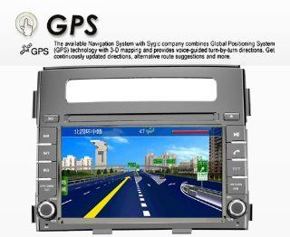 "6.2""car Dvd Gps Navigation Radio Audio Bluetooth Ipod Tv Mp4 for Kia Soul 2012  With Radio Am Fm Ipod Interface Bluetooth Hands Free USB AUX Input Us & Canada Map Plug & Play Installation  In Dash Vehicle Gps Units"