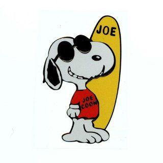 Snoopy Play Cute Sculpture Reflective Decorative Car Stickers for Car and Anything Sports & Outdoors