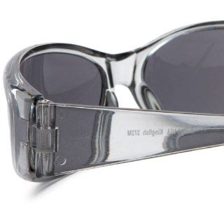 Sunbelt Men's Kingfish 372 Resin Sunglasses,Matte Black Frame/Brown Lens,one size Clothing
