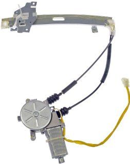 Dorman 748 381 Kia Sephia Rear Passenger Side Power Window Regulator with Motor Automotive