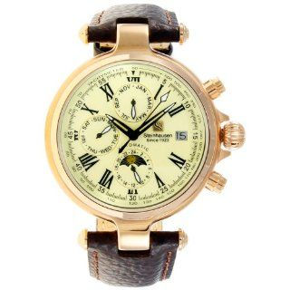 Steinhausen Men's SW381RG Classic Calendar Rose Gold Watch Watches