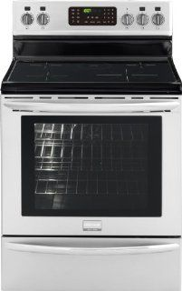 "Frigidaire FGIF3061NF Gallery 30"" Stainless Steel Electric Induction Range   Convection Appliances"