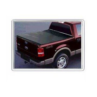 Genesis Bed Cover For Ford ~ F 150 Super Crew 4dr ~ 2004 2006 Black (LONG BED) Automotive