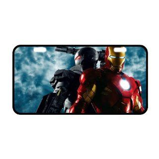 Iron Man License Plate Frame LP 386 Sports & Outdoors