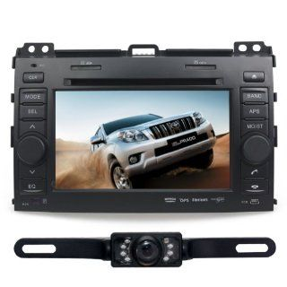 "Tyso For TOYOTA Land Cruiser Prado (2003 2009) 7"" CAR DVD Player GPS Rear Camera Bluetooth Free Map CD6016GR  In Dash Vehicle Gps Units  GPS & Navigation"