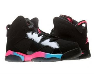 Nike Air Jordan 6 Retro (PS) Girls Basketball Shoes Sports & Outdoors