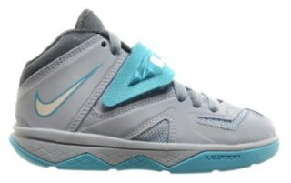 Nike Soldier 7 (PS) Little Kids Basketball Shoes Light Blue/White Gamma Blue Grey 616986 402 Shoes