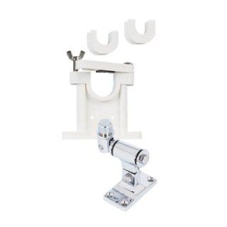 SHAKESPEARE 4 Way Swivel Mount w/Stand Off Bracket Mount Kit, MFG# 409 R, includes the 407 chrome swivel mount & the 408R plastic stand off bracket with inserts / SHA 409 R / Computers & Accessories