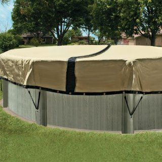 12  Year 30 ft. Round Ultimate Above Ground Winter Pool Cover Patio, Lawn & Garden