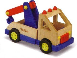Tonka Wooden Tow Truck Toys & Games