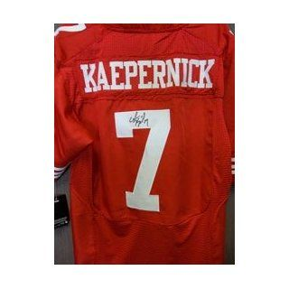 Kaepernick, Colin (San Francisco 49ers) Autographed/Hand Signed San Francisco 49ers Nike Authentic J Sports Collectibles