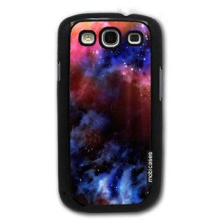 Space Nebula Galaxy   Protective Designer BLACK Case   Fits Samsung Galaxy S3 SIII i9300 Cell Phones & Accessories