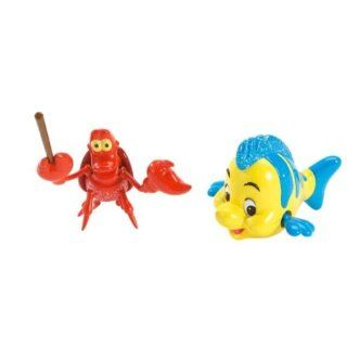 Disney Princess Sparkle Little Mermaid   Ariel Character Pack   Sebastian & Flounder Toys & Games