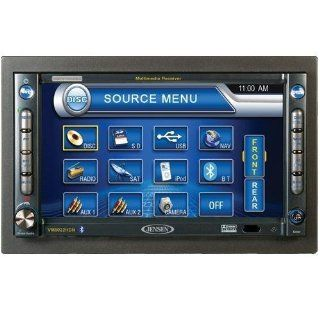 Jensen VM9022HDN  6.5 Inch Touch Screen Double Din MultiMedia Receiver