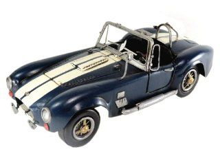 Tinplate Model Car   1966 Shelby AC Cobra 427   Blue 112 scale   Collectible Vehicles