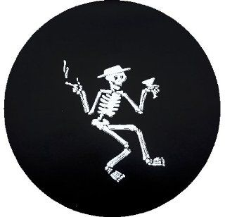 Mr. Bones Spare Tire Cover  Sports Fan Tire And Wheel Covers  Sports & Outdoors