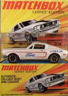 Matchbox 2010, Lesney Edition. '68 Ford Mustang 428 Cobra Jet. 164 Scale. Toys & Games