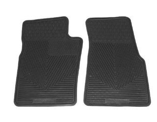 1998 2002 Mercedes Benz ML320/430 Black All Weather Floor Mats   DSD449111 Automotive