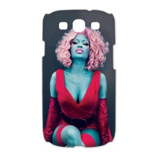 Custom Nicki Minaj 3D Cover Case for Samsung Galaxy S3 III i9300 LSM 2645 Cell Phones & Accessories