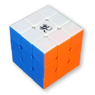 Dayan GuHong 3x3 Speed Cube 6 Color Stickerless Brain Teaser Puzzle Cube Box Toys & Games