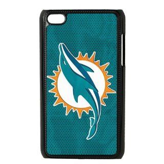 key Custombox NFL Miami Dolphins Ipod Touch 4 Best Durable Plastic Case for Fans Electronics