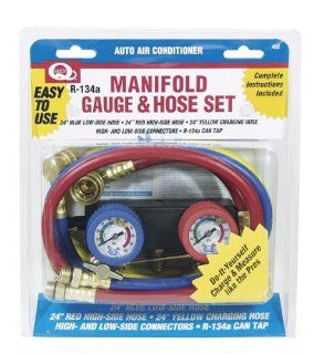 Interdynamics 432 Do It Yourself Manifold Gauge Set Automotive