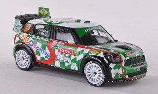 Mini John Cooper Works, No.14, Palmeiras, Rally Monte Carlo , 2012, Model Car, Ready made, IXO 143 IXO Toys & Games