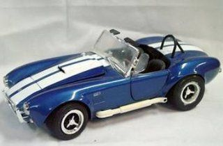 #7386 Ertl American Muscle Shelby Cobra 427 S/C,blue 1/18 Scale Diecast Car Toys & Games
