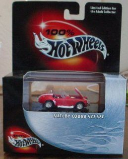 Hot Wheels 100% 1967 Shelby Cobra 427 S/C #32 2002 Toys & Games