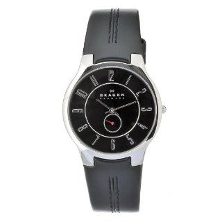 Skagen Men's OT433XLSLB Quartz Black Dial Stainless Steel Watch Skagen Watches
