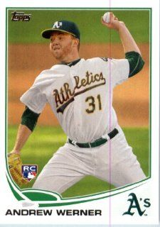 2013 Topps MLB Trading Card (In Protective Screwdown Case) # 433 Andrew Werner RC Oakland Athletics Sports Collectibles