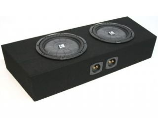 "FORD MUSTANG CONVERTIBLE DUAL 10"" CUSTOM SUB BOX NEW"