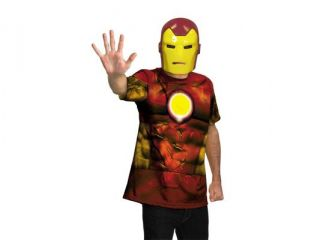 Marvel Universe Iron Man Shirt Child/Adult Costume 14 16