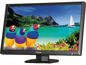 "ViewSonic VA2703 LED Black 27"" 3.4ms Widescreen LED Backlight LCD Monitor 300 cd/m2 1200:1"