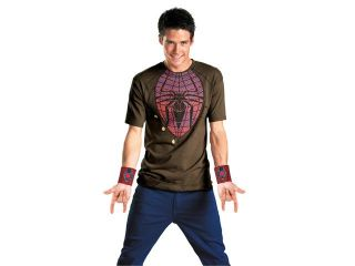 Amazing Spider Man Alternative Costume T Shirt & Web Shooters Adult