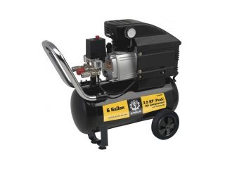 Steele Products SP CE356MK 6 Gallon Air Compressor with Wheel Kit