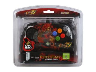 Mad Catz Official Street Fighter IV FightPad for Xbox 360   Akuma