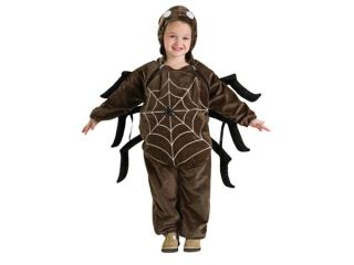 Brown Spider Web Costume Jumpsuit Baby Infant 6 12 Months