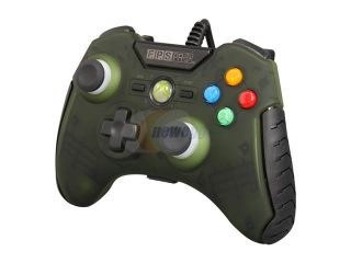 Mad Catz Officially licensed F.P.S. Pro Wired GamePad for Xbox 360   Army Green