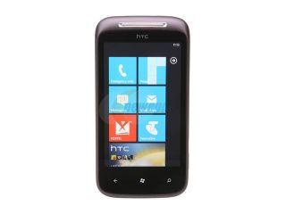 "HTC 7 Mozart Black Unlocked GSM Smart Phone w/ Windows Phone 7 / 3.7"" Touchscreen / 8 MP Camera"