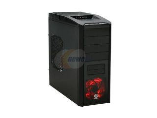 Thermaltake V9 Black Edition ATX Computer Gaming Chassis with Dual Oversized 230mm Ultra Silent Cooling Fans VJ400G1N2Z Mid Tower