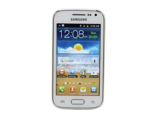 Samsung Galaxy Ace 2 i8160 White 3G Dual Core 800MHz Unlocked Cell Phone