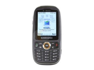 Samsung Black Unlocked Slider Cell Phone (SGH T369)