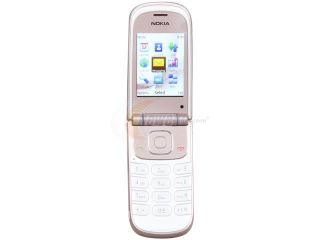 Nokia 3710 fold Pink Unlocked GSM Flip Phone with A GPS