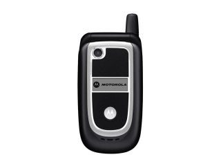 Motorola V237 Black Flip VGA Camera /MP4 Player Unlocked GSM Cell Phone