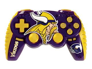 Mad Catz Officially Licensed NFL Wireless Controller For PS3   Minnesota Vikings